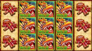 Chinese Slot Machine Dragon Reels