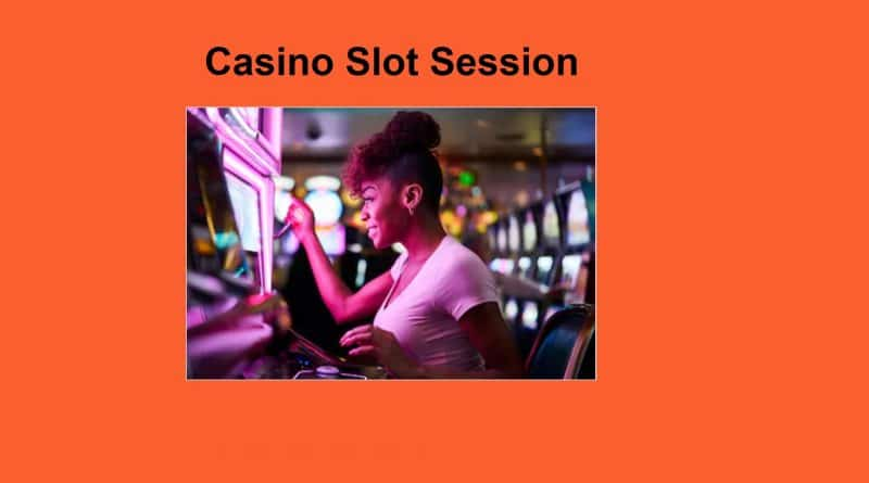 EGT Casino slot session
