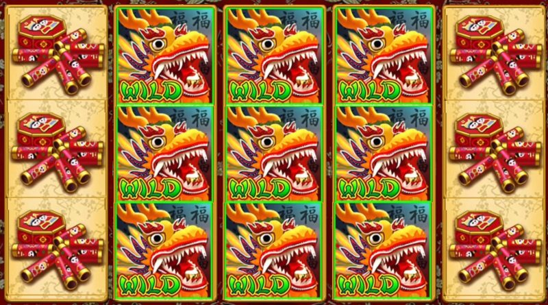 Mchezo wa Kasino wa Kichina wa Dragon Reels