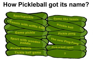 How Pickleball got its name