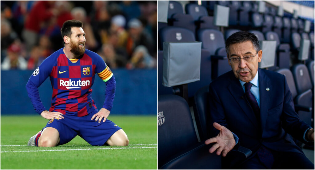 messi and bartolomeu