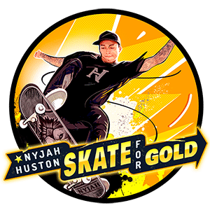 Nyjah Huston - Skate for Gold slot