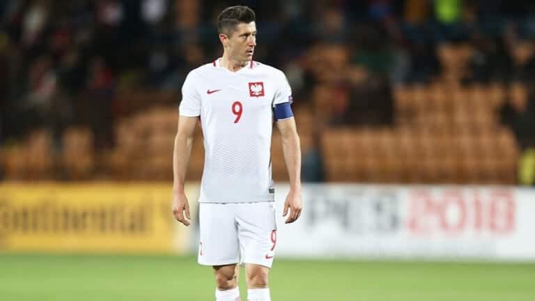 Левандовски в национланият отбор