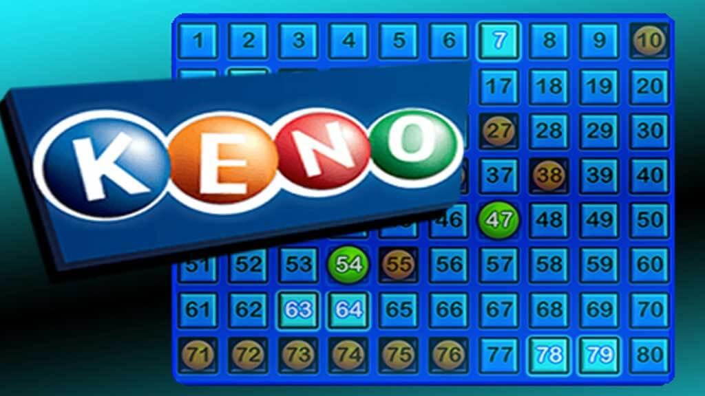 Кено е хазартна игра която наподобява лотария и бинго