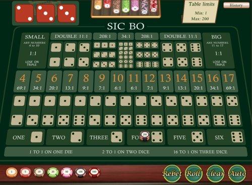 Sic Bo се произнася Сик Бо и е известна хазартна игра на зарове популярна в Азия и Китай