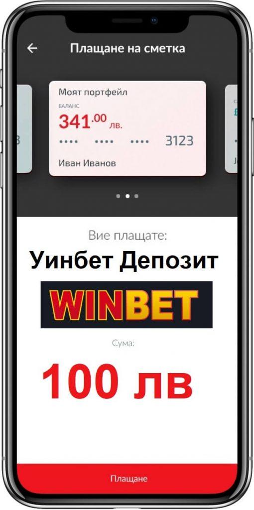 Депозит чрез Cashterminal в казино Winbet