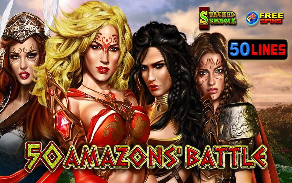 50 Amazons' Battle EGT Slot