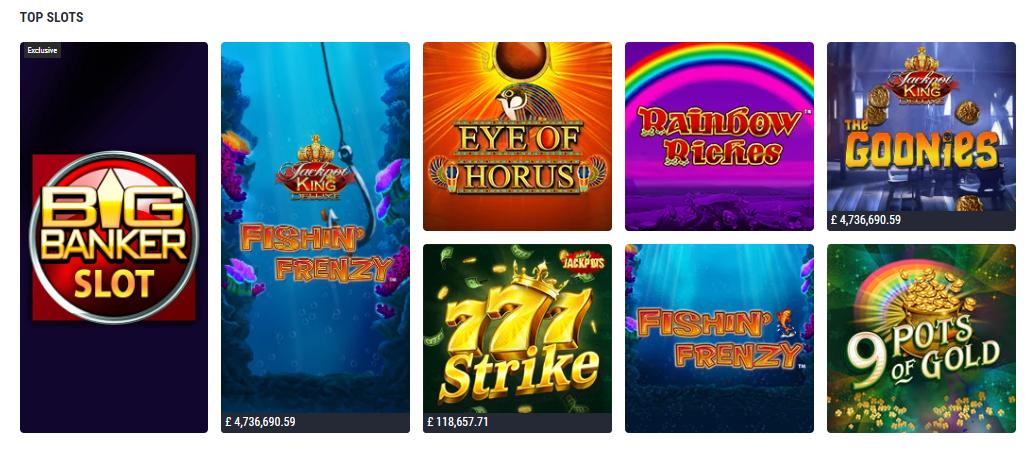 Топ казино игри в LadBrokes