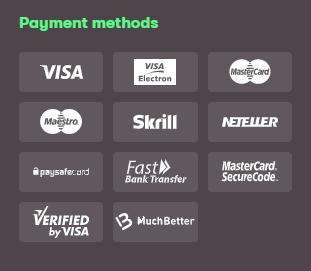 Платежни методи в 10 Бет