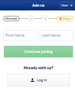 Skybet регистрация