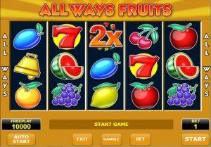 All Ways Fruits слот игра