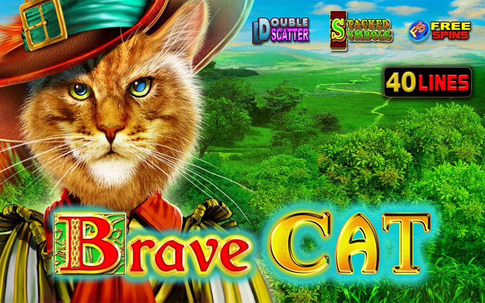 Brave Cat казино игра