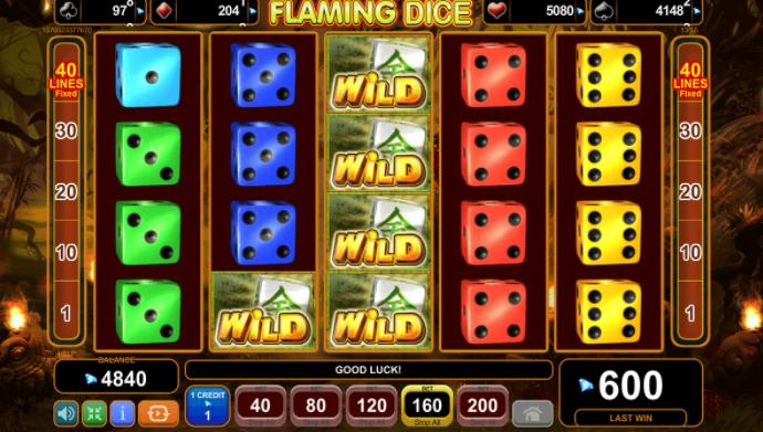 Flaming Dice слот игра