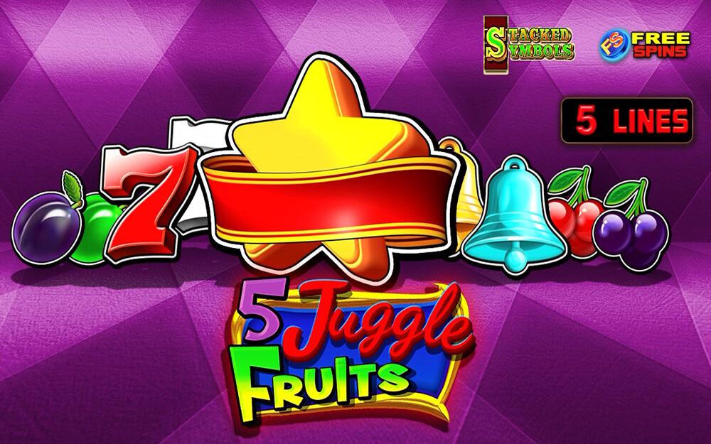 5 Juggle Fruits слот игра