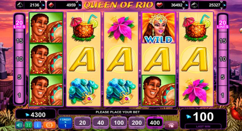 Queen of Rio слот игра