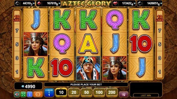Aztec Glory слот игра