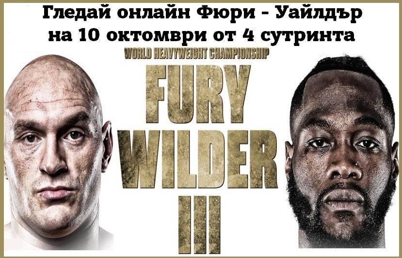 Гледай онлайн Fury и Wilder